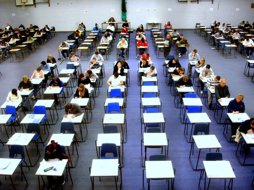 Does God help Christians with their exams?
