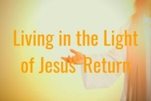 The Light of Jesus' Return